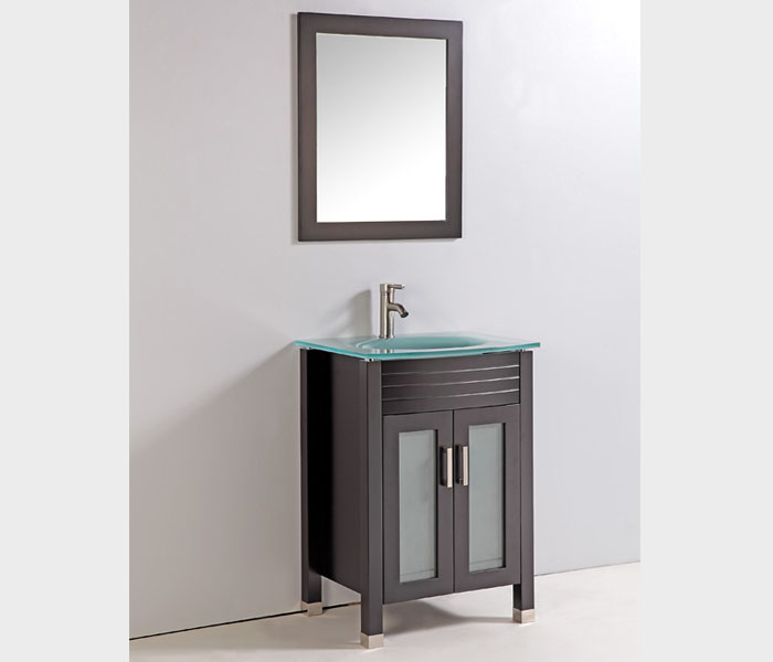 WA3224E Cheapest Bathroom Vanities Online Tempered Glass ...