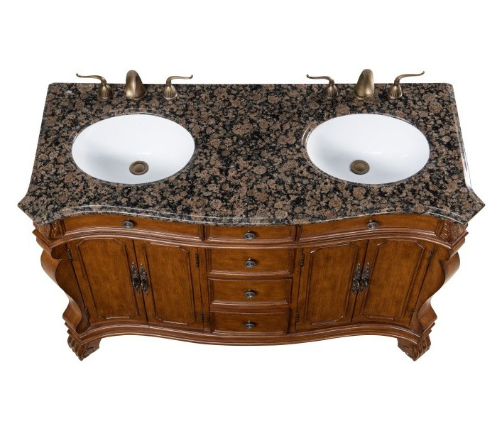 LF68 free standing bath vanity like a piece of furniture ...